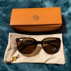 Tory Burch Polarized Tortoise Sunglasses (TY7106)